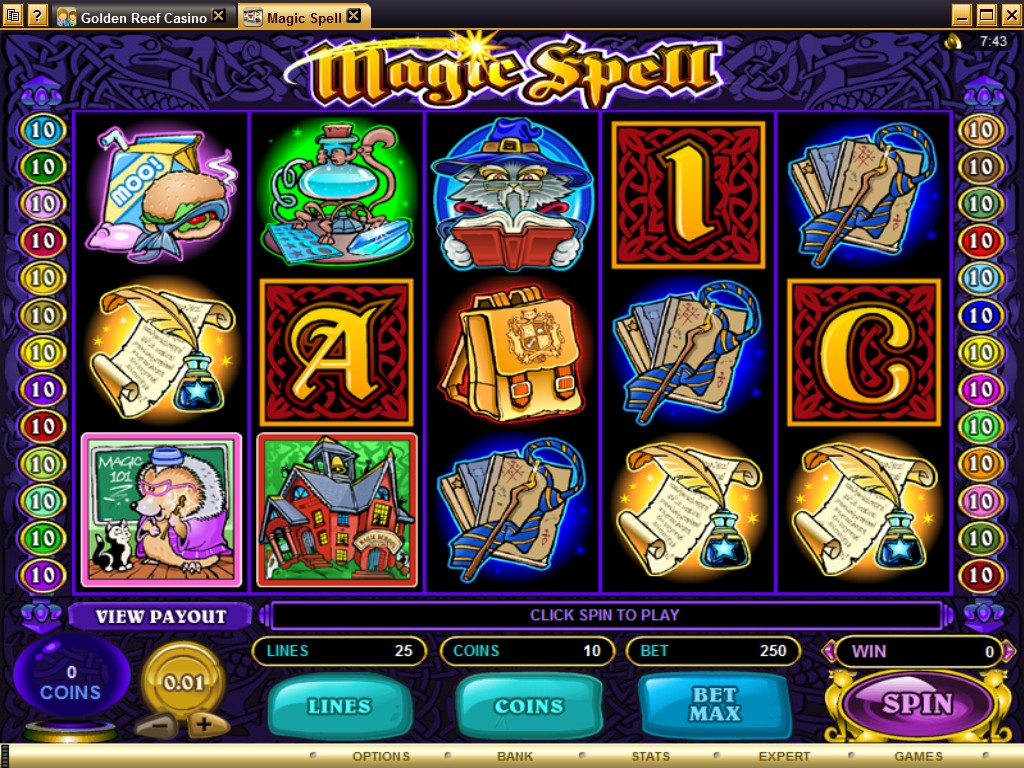 golden reef casino download