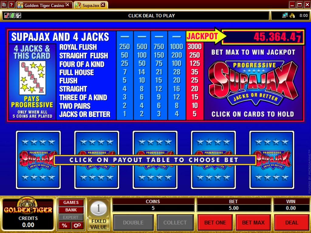Online Slots At Golden Tiger Casino
