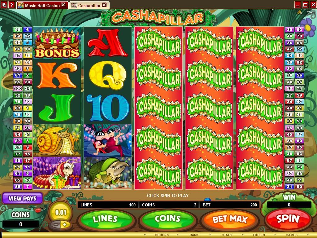 music casino online