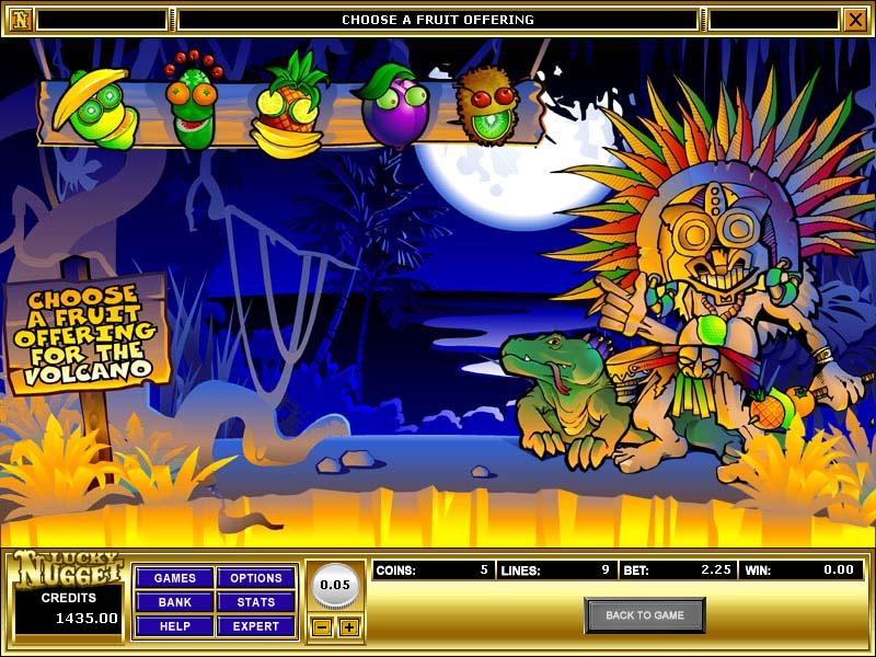 casino volcano platinum slot machines