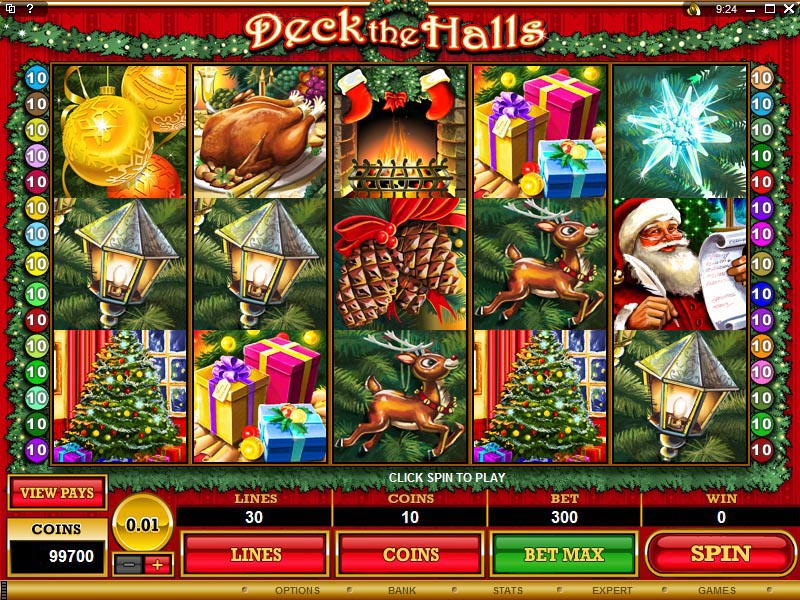 Deck the Halls Slot Machine – Online Review & Free Play Game