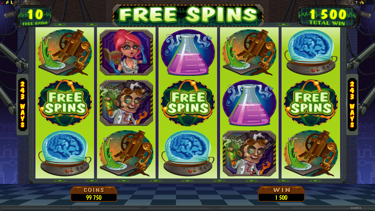 All About Slots Microgaming Dr Watts Up Video Slot Review
