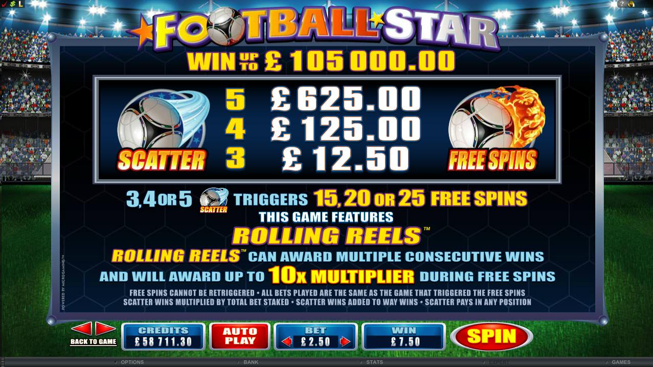Spiele World Football - Video Slots Online