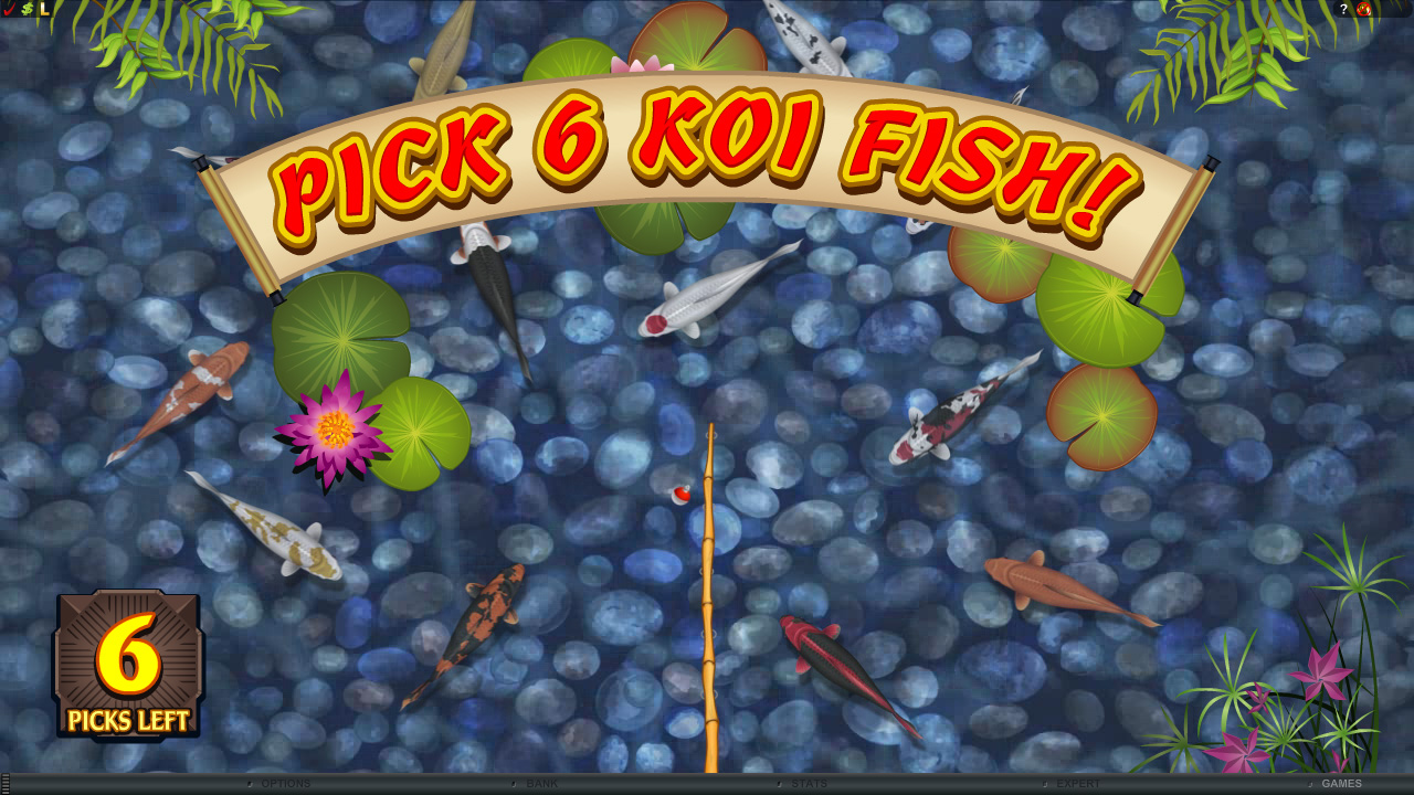 All about slots microgaming lucky koi video slot review for Koi fish games