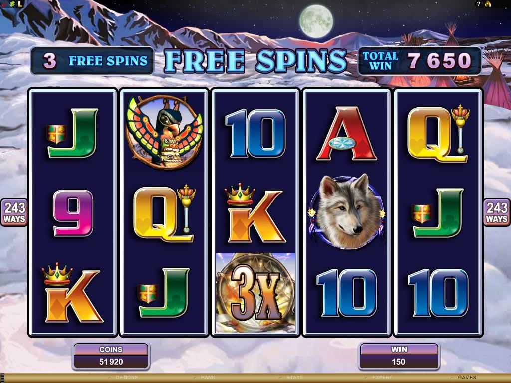 No deposit free spins 2019