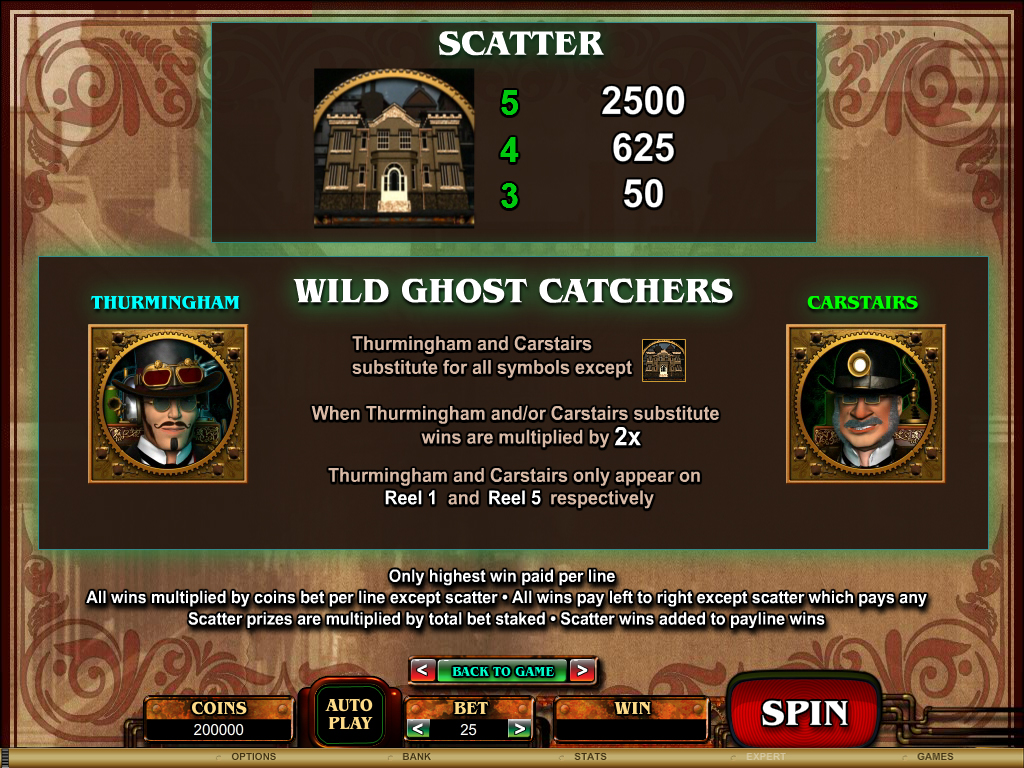 Phantom Manor Slots - Full Review and Video Preview