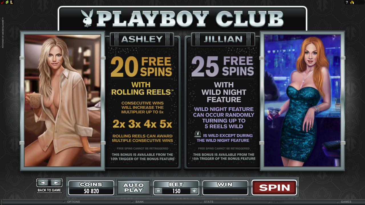 All About Slots Microgaming Playboy Video Slot Review