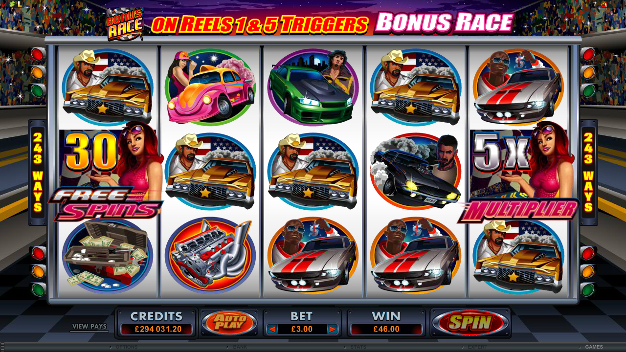 Racing for Pinks Slots Review & Free Online Demo Game