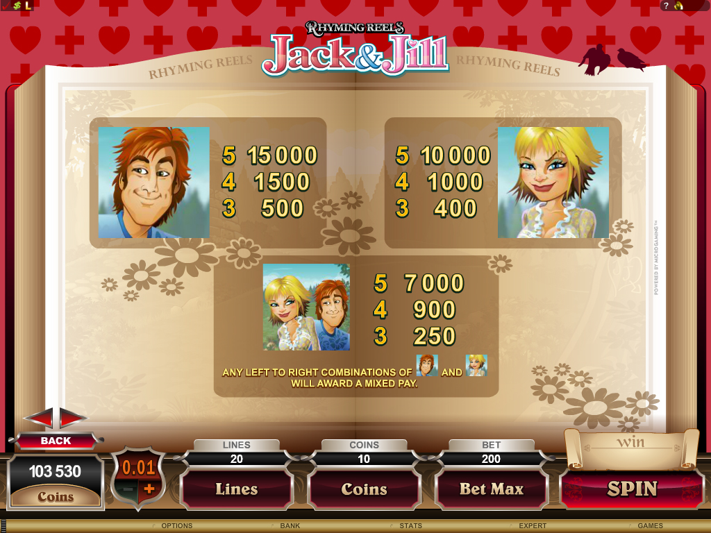 Spiele Jack And Jill - Video Slots Online