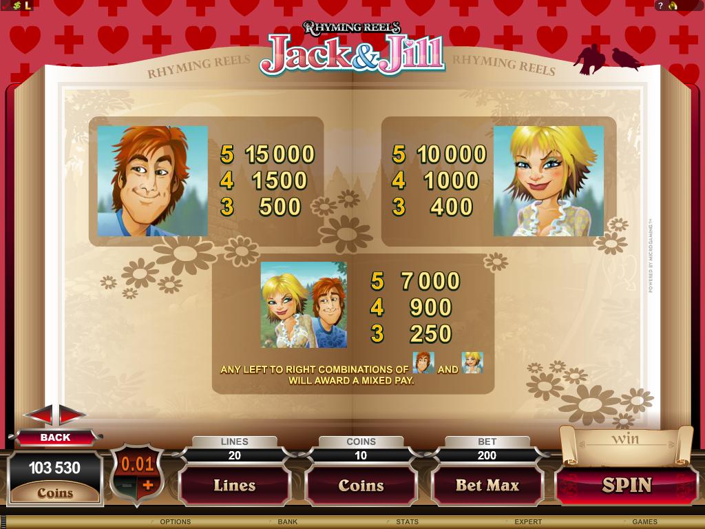 Jack And Jill Slots - Play Free Casino Slots Online