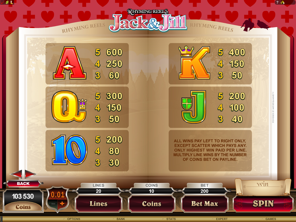 Jumping Jack Cash Slot - Review and Free Online Game