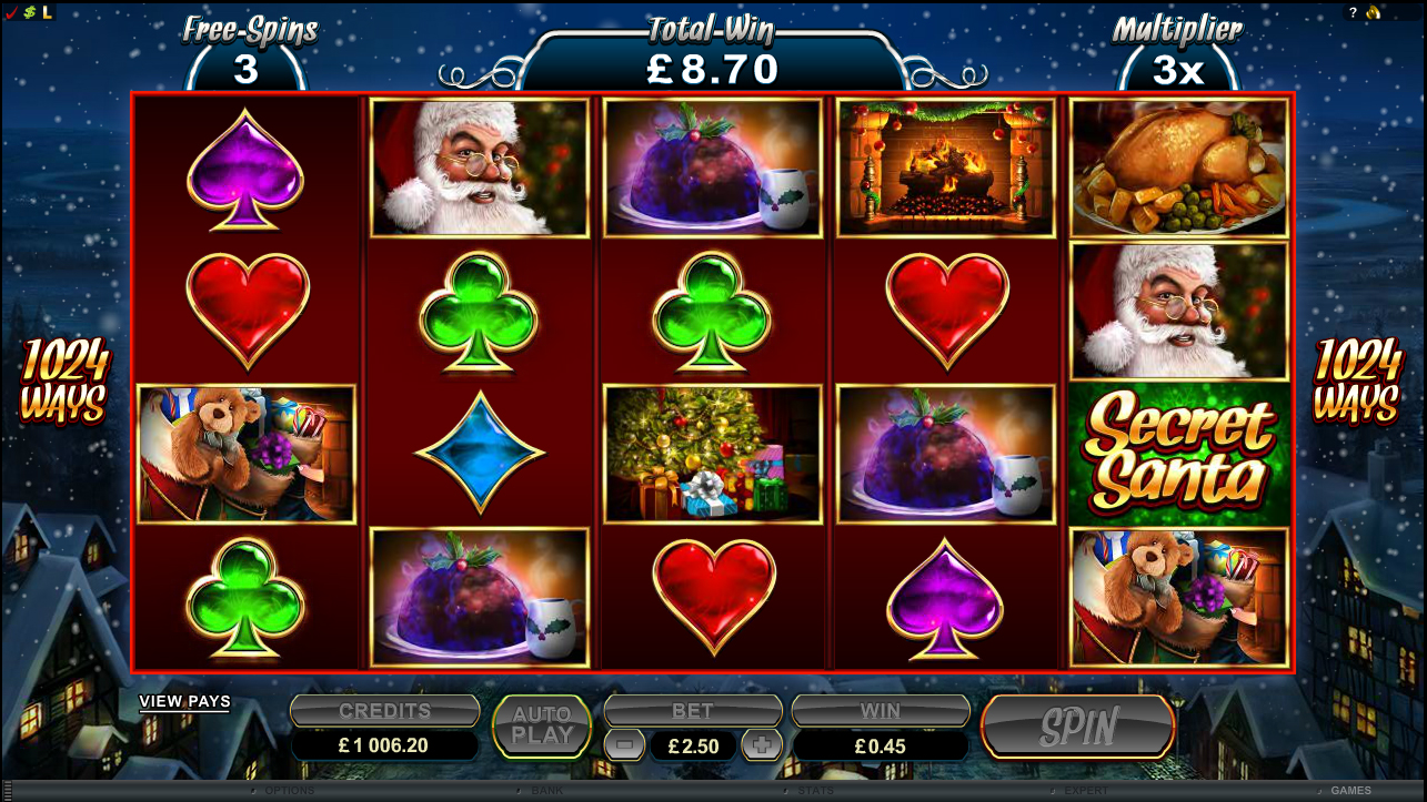 Secret santa slot free play