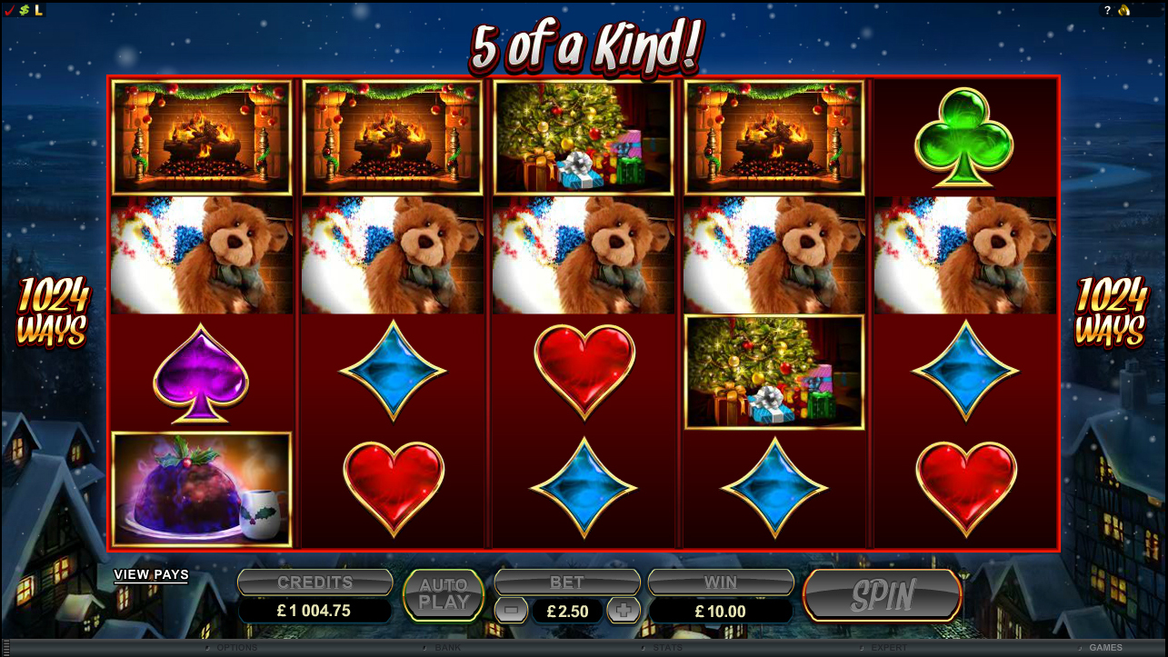 Microgaming Video Slot: Secret Santa