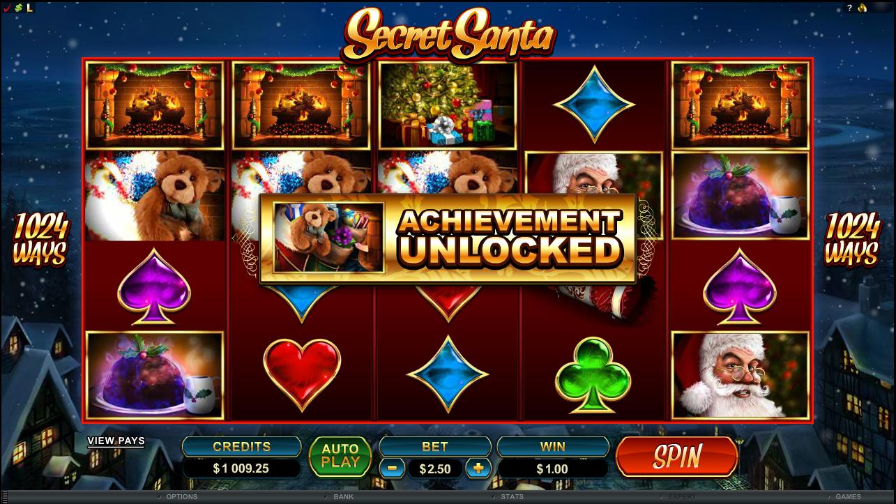 Secret Santa Slot - Play this Microgaming Casino Game Online