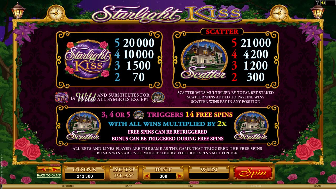 Starlight Kiss Slot Review – Play the Online Game for Free