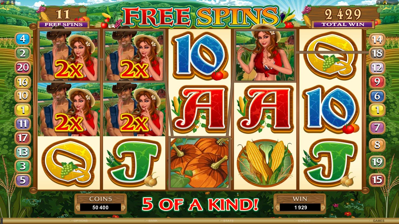 slots games with free spins