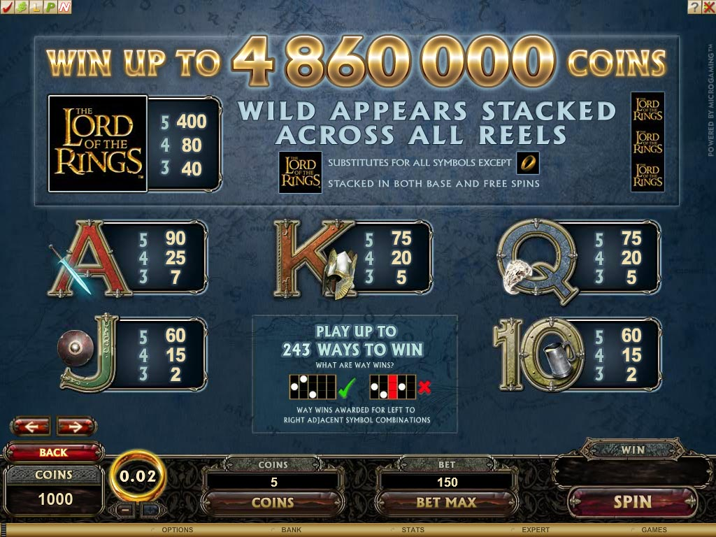 slots casino online lord of