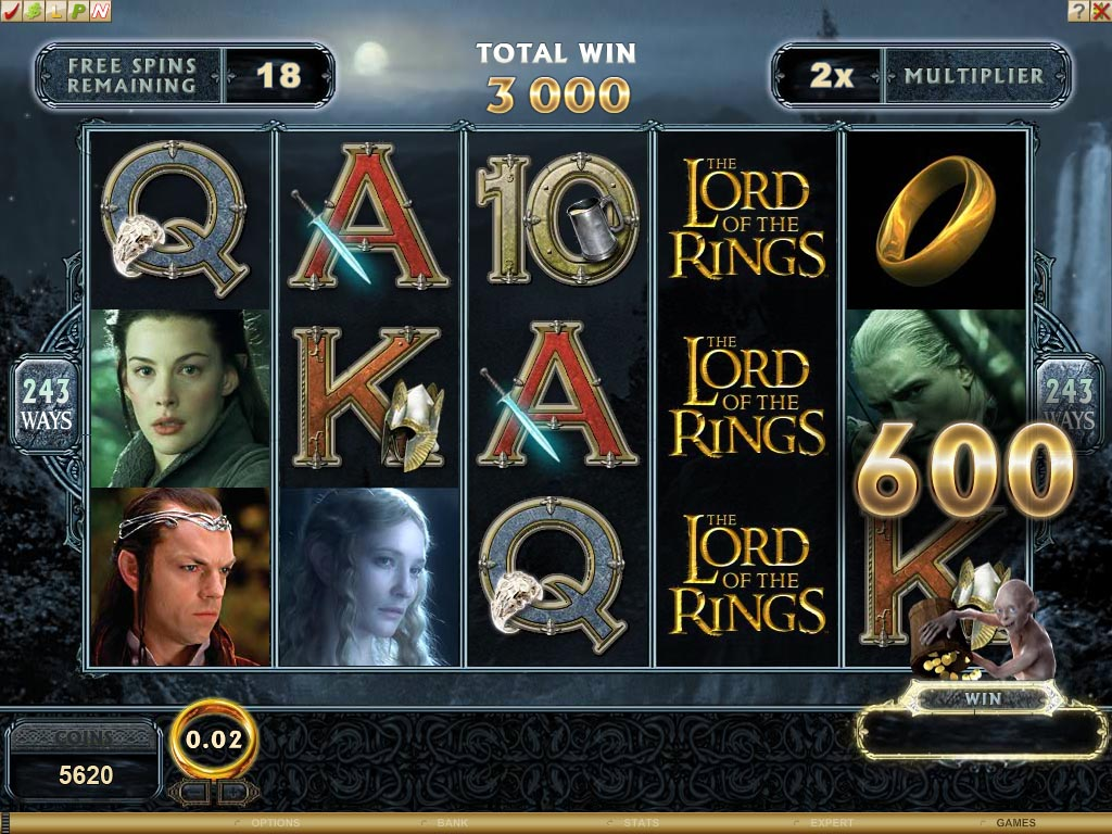 Play free online slots lord of the rings online slot machine