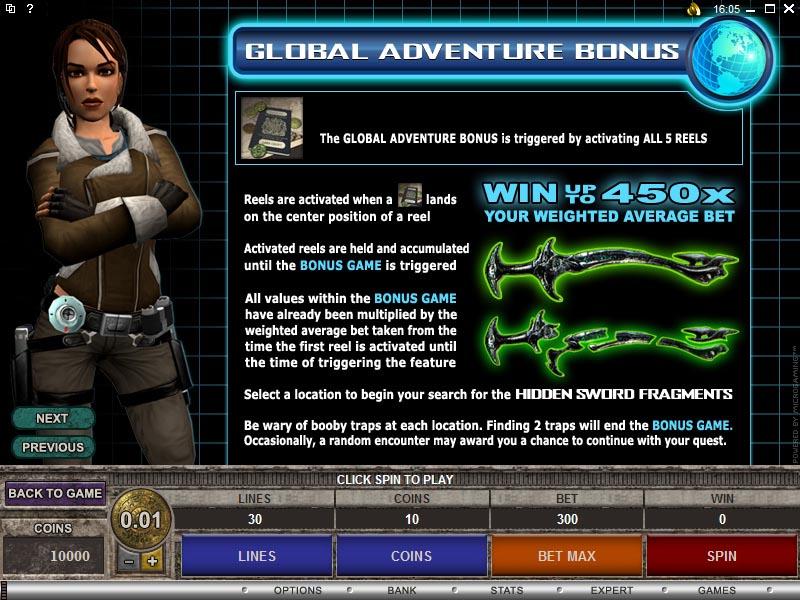 Tomb Raider Slots Free